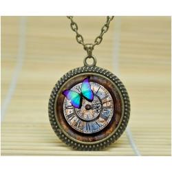 collier pendantif steampunk