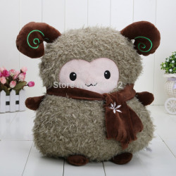 Peluche Mouton marron clair