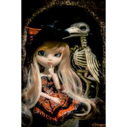 Carte postale pullip halloween