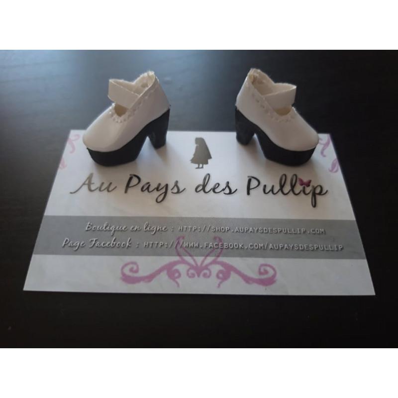 Chaussure lolita blanche