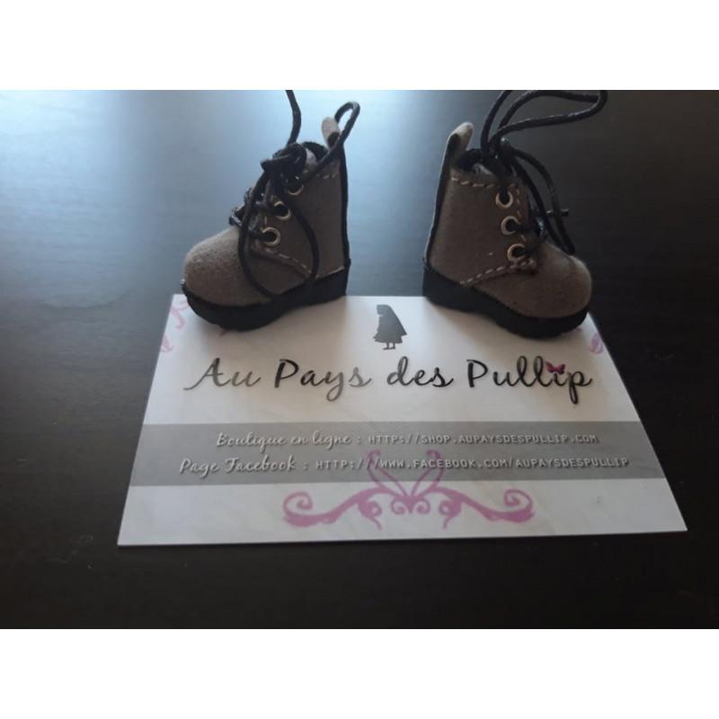 boots pour pullip noir