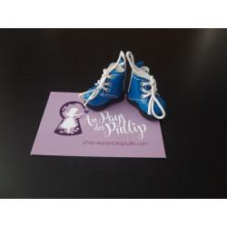 Boots Pullip bleu