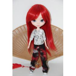 Wig Pullip rouge
