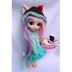 Kigurumi ice cream cat...
