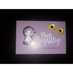 Eyechips pullip 12mm jaune