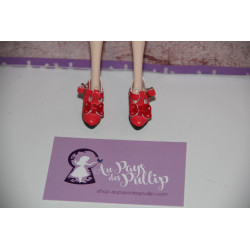 Chaussure Lolita rouge...