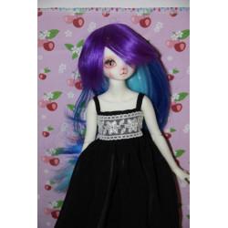 Wig 6-7 bleu violette