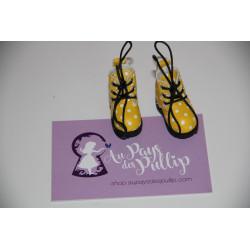 Boots Pullip jaune a poids