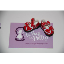 Chaussure Lolita rouge et...