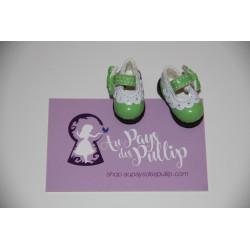 Chaussure Lolita verte et...