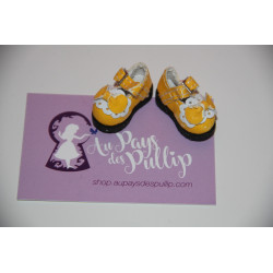 Chaussure Lolita jaune et...